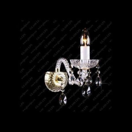 Aplice Cristal Bohemia - Aplica de perete cristal Bohemia N21 808/01/1-A