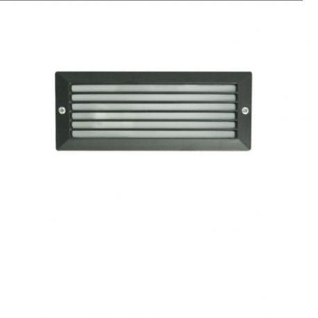 Spoturi - Spot / Corp iluminat de exterior incastrabil IP44 ESCA negru