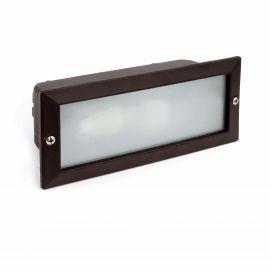 Spoturi - Spot / Corp iluminat de exterior incastrabil IP44 LISO negru