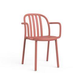 Scaune - Set de 2 scaune de exterior / interior design modern Sue cu brate