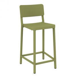 Scaune - Set de 2 scaune de bar H-67cm, exterior / interior design modern, Lisboa Medium Stool
