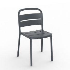 Scaune - Set de 2 scaune din polipropilena pentru exterior / interior Como Chair
