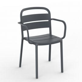 Scaune - Set de 2 scaune din polipropilena pentru exterior / interior COMO Armchair