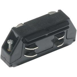 Accesorii iluminat - Accesoriu, conector liniar negru pentru sinele Track