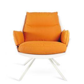 Fotolii - Fotoliu pentru exterior si interior design LUX, Anou Metal Legs