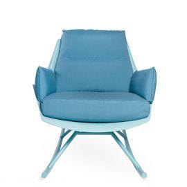 Fotolii - Fotoliu tip balansoar pentru exterior si interior design LUX, Anou Rocking Chair Legs
