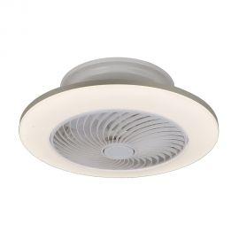 Lustre cu ventilator - Lustra LED cu ventilator si telecomanda design modern Dalfon, 55cm