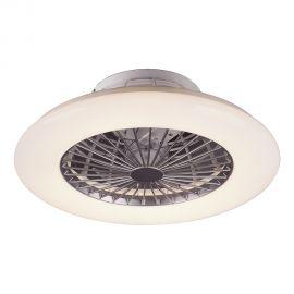 Lustre cu ventilator - Lustra LED cu ventilator si telecomanda design modern Dalfon 50cm