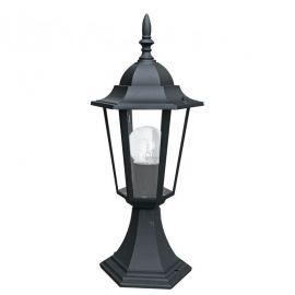 Stalpi - Stalp mic pentru iluminat exterior design clasic IP44 MILANO negru