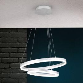 Candelabre, Lustre - Lustra LED dimabila design modern circular Float