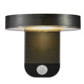 Lampi decorative si solare - Aplica LED solara, cu senzor de miscare design modern, IP44 RICA ROUND