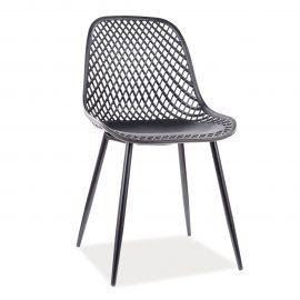 Scaune - Scaun elegant cu structura din plastic Corral A, negru