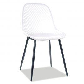 Scaune - Scaun elegant cu structura din plastic Corral A, alb