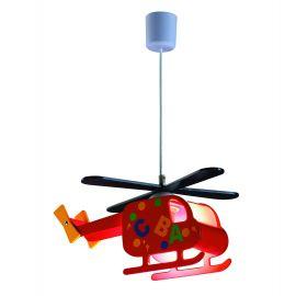 Iluminat pentru copii - Lustra copii H-95cm Helicopter