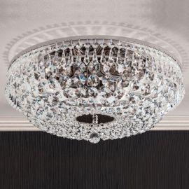 Lustre Cristal Scholer - Lustra aplicata cristal Schöler design de lux Sheraton 45cm, chrome