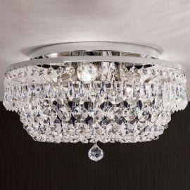 Lustre Cristal Scholer - Lustra aplicata cristal Schöler design de lux Sheraton 35cm, chrome