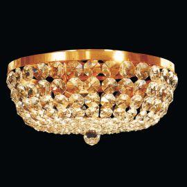 Lustre Cristal Scholer - Plafoniera cristal Schöler design de lux Sheraton 45cm, 24K gold plated