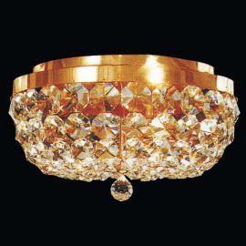 Lustre Cristal Scholer - Plafoniera cristal Schöler design de lux Sheraton 35cm, 24K gold plated