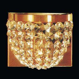 Lustre Cristal Scholer - Aplica de perete cristal Schöler design de lux Sheraton, 24K gold plated