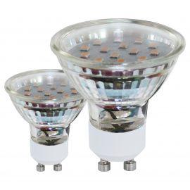 Set 2 becuri GU10-LED 3W 240 lm 3000K