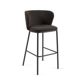 Scaune Bar - Scaun de bar design modern Ciselia, negru