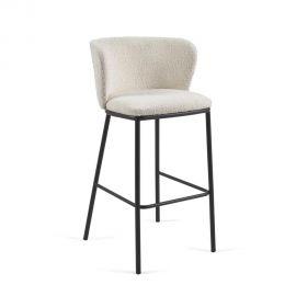 Scaune Bar - Scaun de bar design modern Ciselia, alb