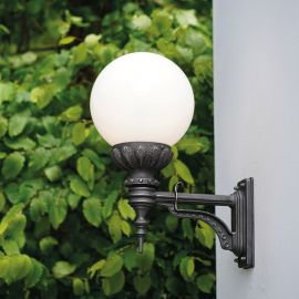 Aplice Exterior Fier Forjat - Aplica iluminat exterior din fier forjat, WL3115