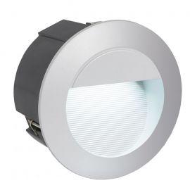 Spot exterior incastrabil diam.12,5cm, protectie IP65, ZIMBA-LED argintiu