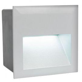 Spot exterior incastrabil, protectie IP65, LED ZIMBA-LED argintiu
