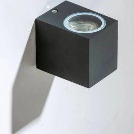 Aplice - Aplica de perete exterior ambientala IP54 RIMINI 1 SQUARE DGR