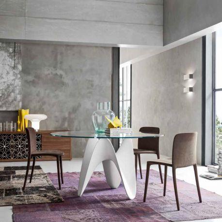 Mese dining - Masa eleganta design avangardist GAYA 120cm