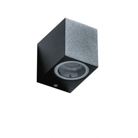 Aplice - Aplica de perete exterior ambientala IP54 RIMINI 1 SQUARE BK
