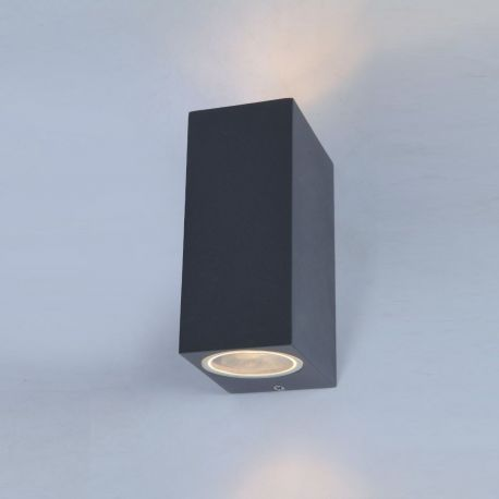 Aplice - Aplica de perete exterior ambientala IP54 RIMINI 2 SQUARE DGR
