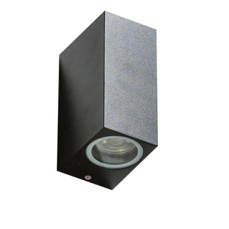 Aplice - Aplica de perete exterior ambientala IP54 RIMINI 2 SQUARE WH