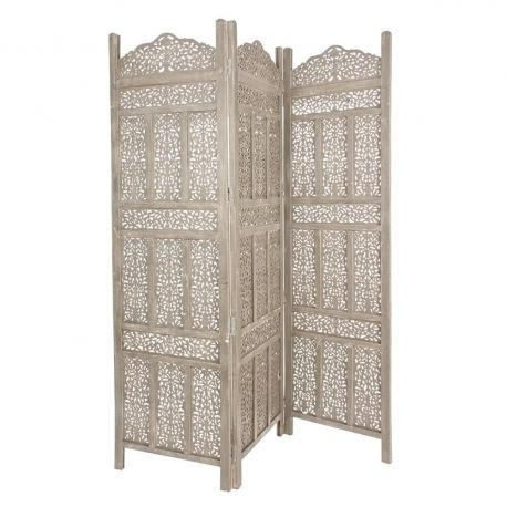 Garderobe - Paravan decorativ KARTIK 3DO gri