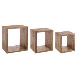 Biblioteci-Rafturi - Set de 3 cuburi ALVIN