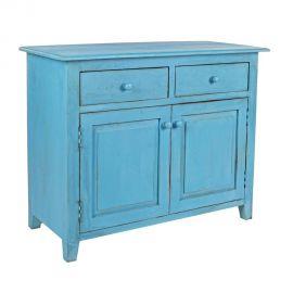 Comode - Comoda MARGOT 2DO-2DR albastru
