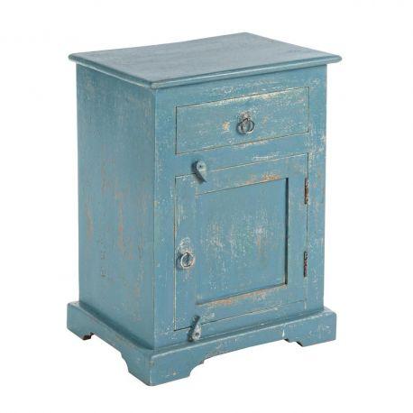 Dulapuri - Dulap ANIA 1DO-1DR albastru