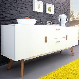 Comode - Comoda Scandinavia 160cm alb