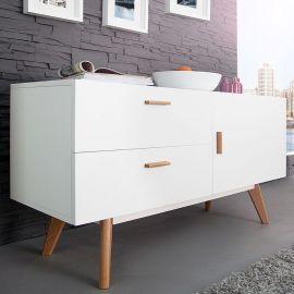 Comode - Comoda Scandinavia 120cm alb