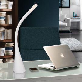 Lampi birou - Lampa de birou LED Lain alba