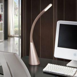Lampi birou - Lampa de birou LED Lain champagne
