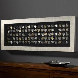 Decoratiuni perete - Basorelief decorativ Cubic