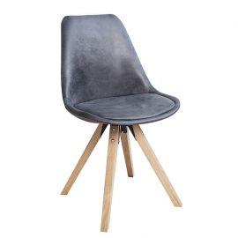 Seturi scaune, HoReCa - Set de 4 scaune Scandinavia gri antic