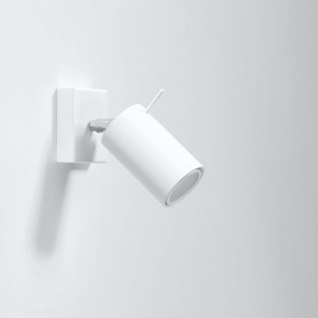 Aplice cu Spot - Aplica moderna RING I alba