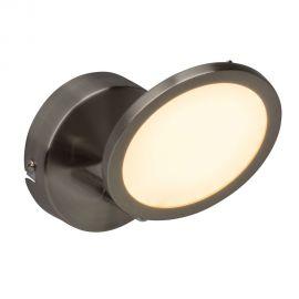 Aplice, corpuri de iluminat pentru pereti - Aplica LED Pluto nickel