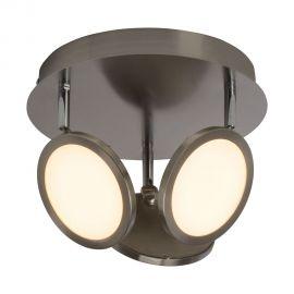 Plafoniere - Plafoniera LED Pluto 3 nickel