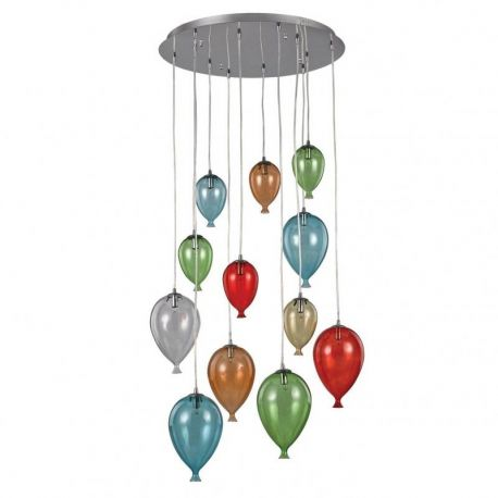 Pendule, Lustre suspendate - Pendul CLOWN SP12 COLOR