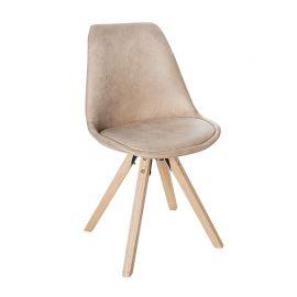Seturi scaune, HoReCa - Set de 4 scaune Scandinavia bej antic