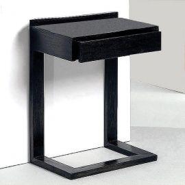 Noptiere - Noptiera design elegant neagra Londa